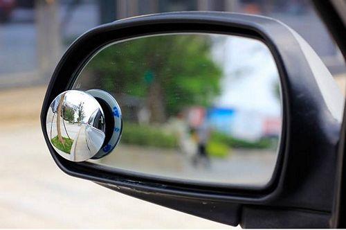 lắp gương cầu lồi vào gương chiếu hậu ô tô