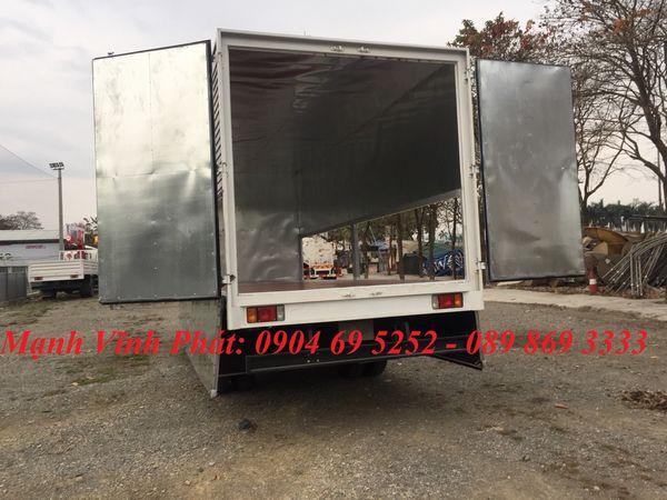 xe tải 8 tấn isuzu thùng kín