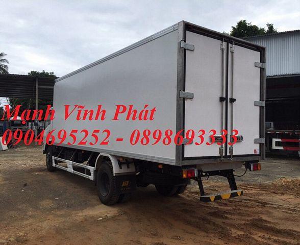 xe tải thùng đông lạnh isuzu 8 tấn