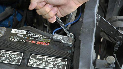 quy trình tắt hệ thống túi khí xe hơi