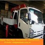 xe tải gắn cẩu isuzu 3 tấn